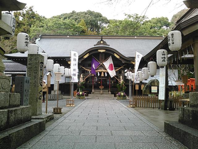 福岡県蒲生八幡神社の建物その他