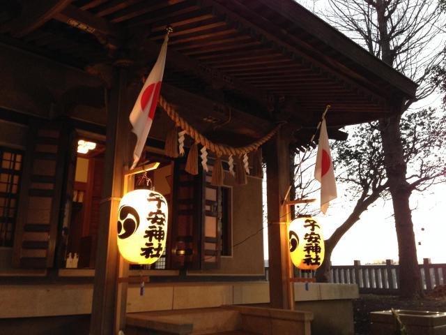 千葉県子安神社の本殿
