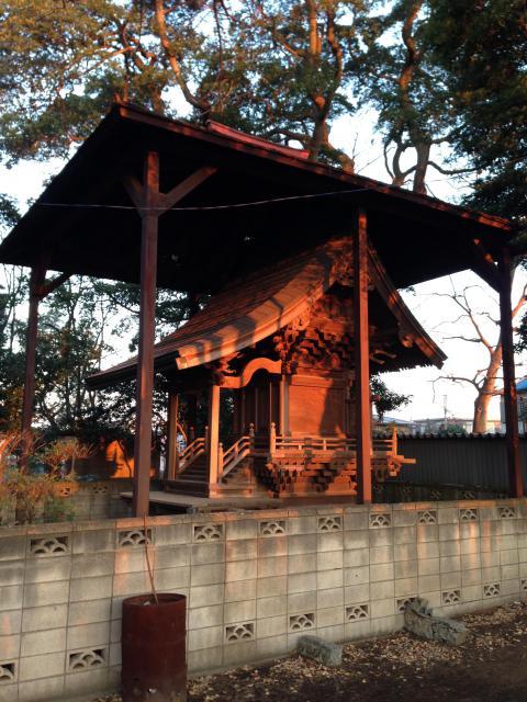 千葉県子安神社の建物その他