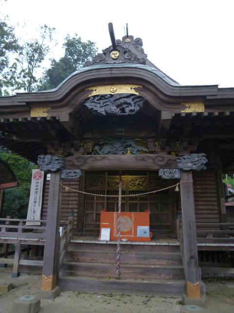 東京都小野神社の本殿