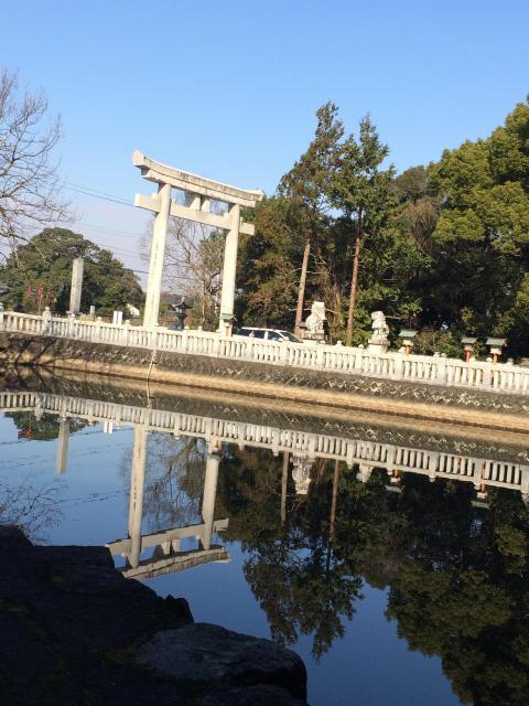 香川県冠纓神社の鳥居
