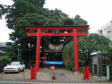 宮城県宮城野八幡神社の鳥居