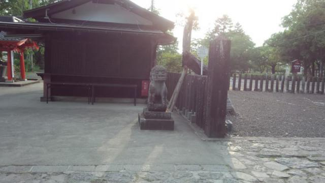 陸奥国分寺薬師堂の狛犬