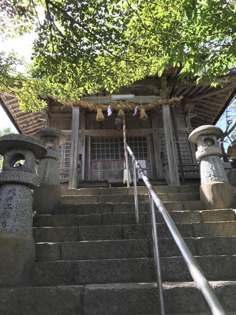 鳥取県荒砂神社の本殿