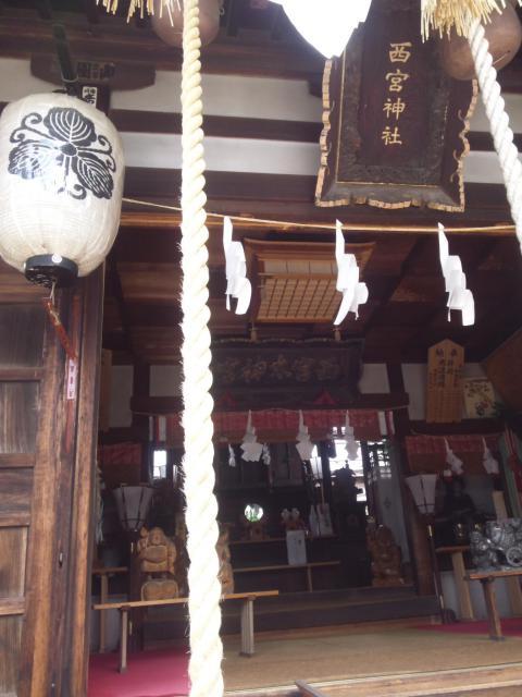 長野県西宮神社の本殿