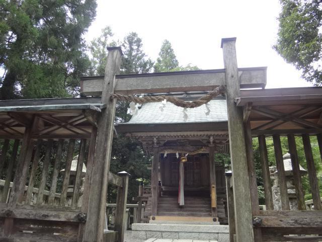 調宮神社の鳥居