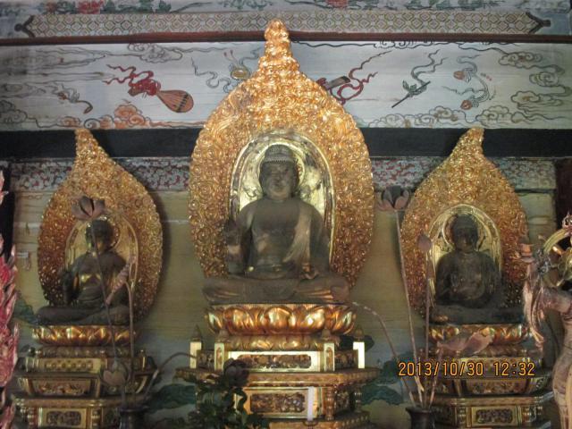 来迎院の仏像