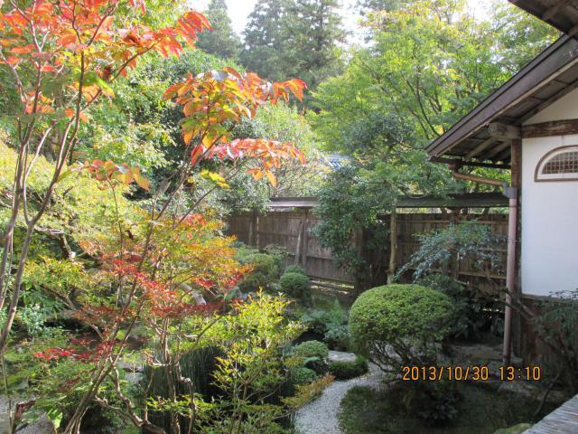 宝泉院の庭園
