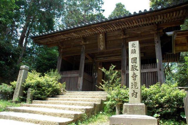兵庫県圓教寺の本殿