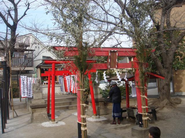東京都天祖神社(萩中神社)の鳥居