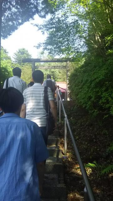静岡県駿河神社の鳥居