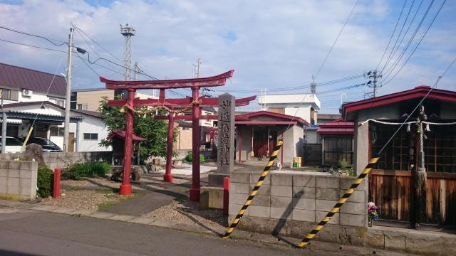 妙逸稲荷神社の鳥居
