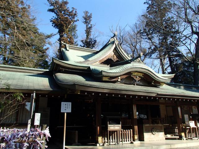 茨城県一言主神社の本殿