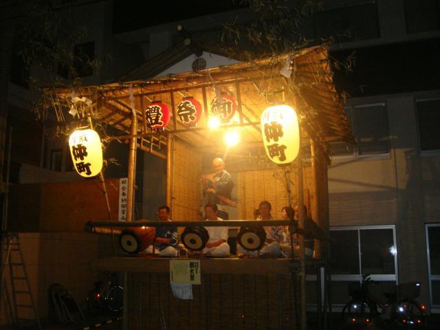 東京都天祖諏訪神社のお祭り
