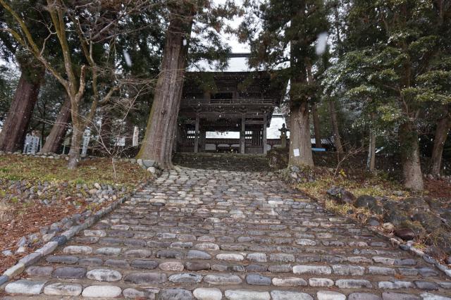 岐阜県洲原神社の建物その他