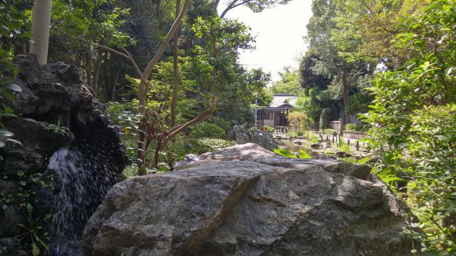 和樂備神社の庭園