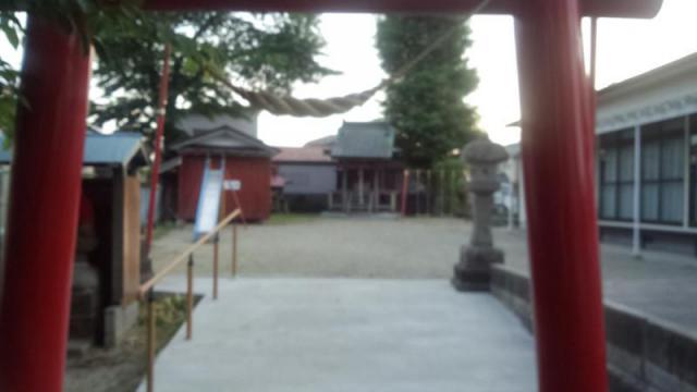宮城県雷神社の鳥居