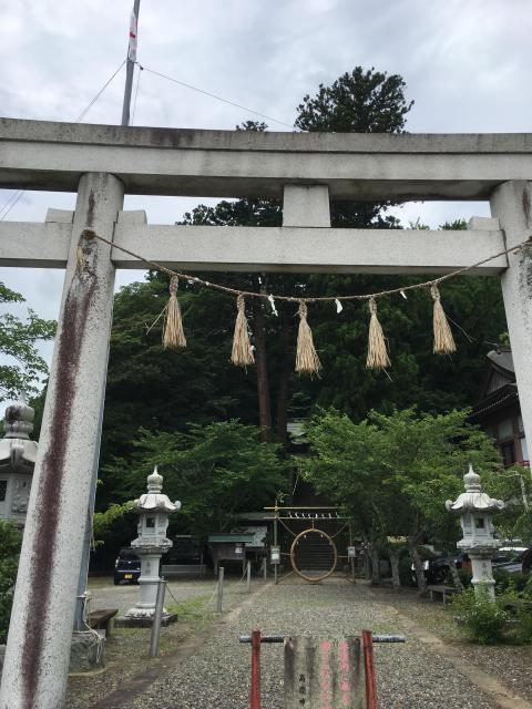 千葉県高滝神社の本殿