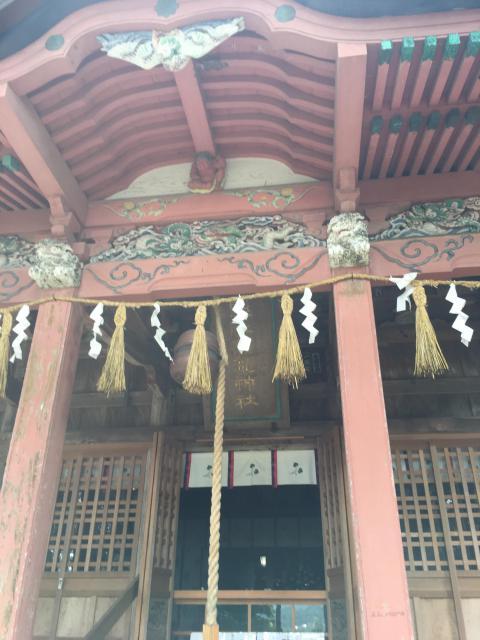 千葉県高滝神社の写真