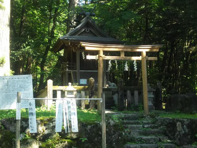 栃木県瀧尾高徳水神社 の本殿