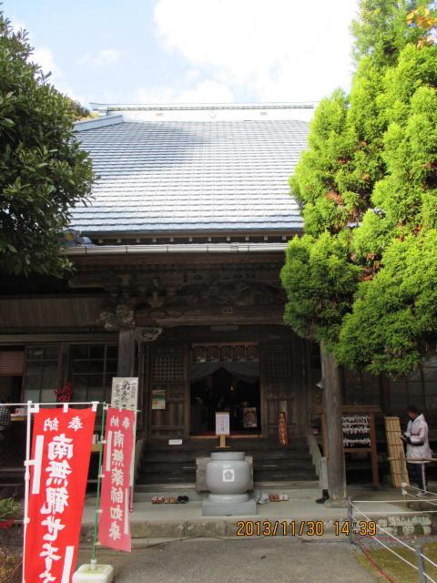 千葉県小松寺の本殿