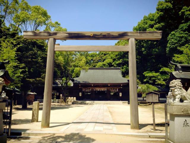 大阪府四條畷神社の鳥居