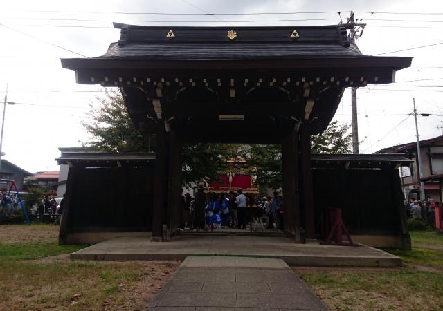 岐阜県勝久寺の本殿