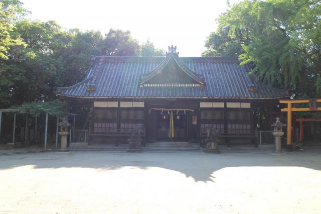 大阪府白鳥神社の本殿