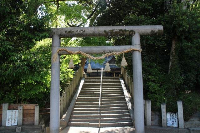 大阪府白鳥神社の鳥居