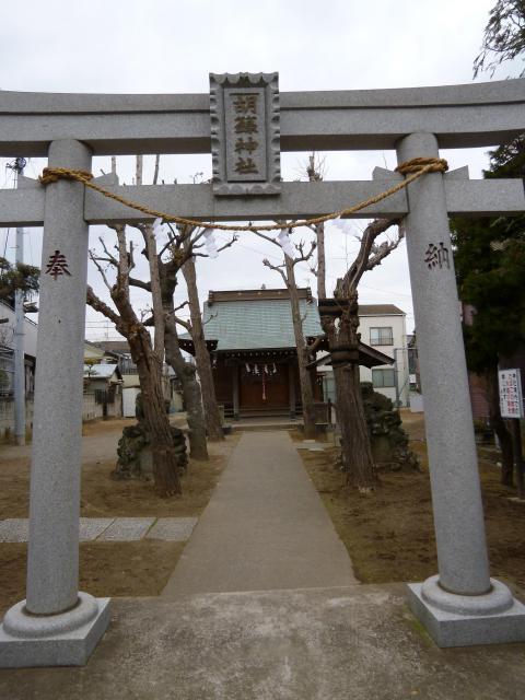 胡録神社の鳥居