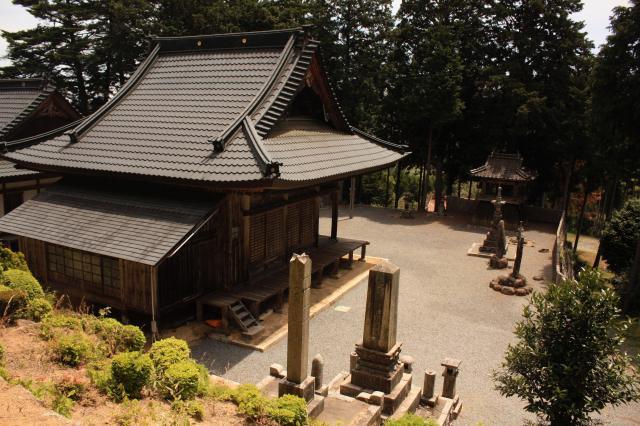 岡山県清水寺の本殿