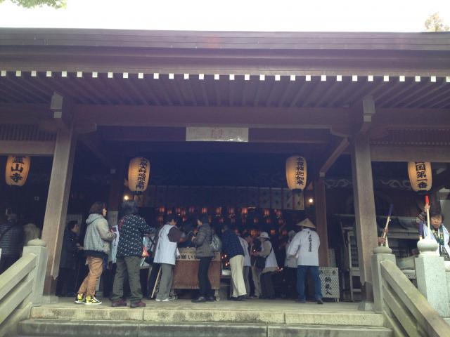 徳島県霊山寺の本殿