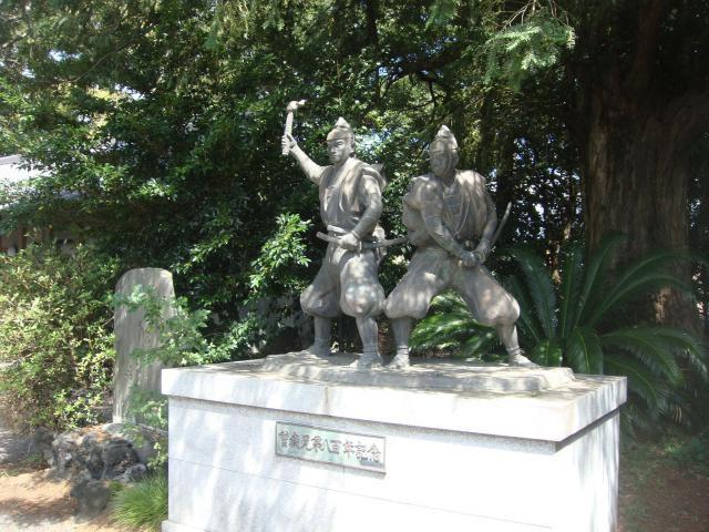 曽我寺の像