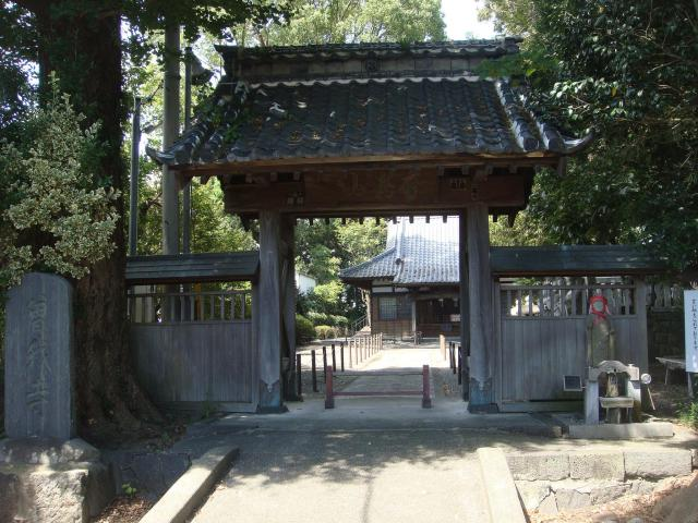 曽我寺の山門
