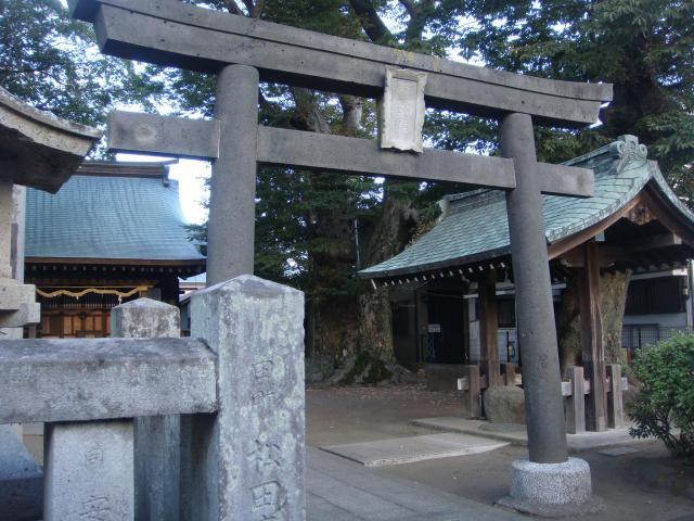 楊原神社の鳥居