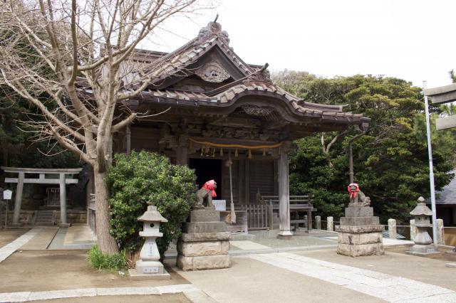 小動神社の本殿