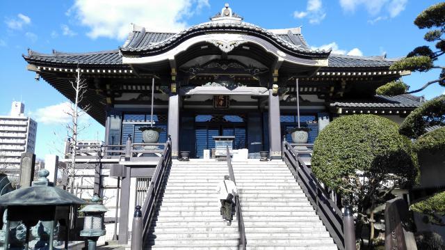 埼玉県錫杖寺の本殿
