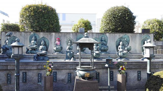 錫杖寺の地蔵