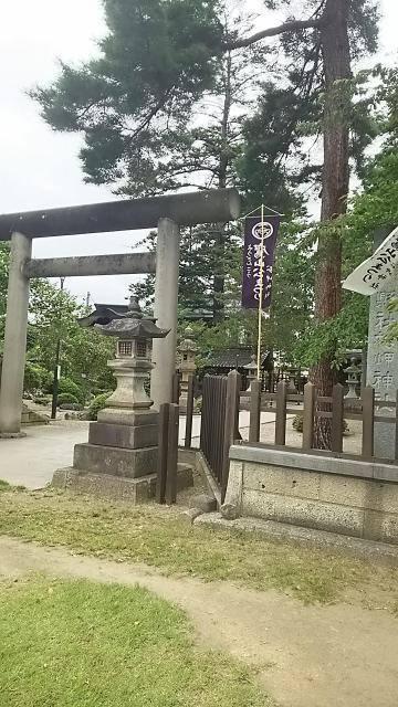 松岬神社の鳥居