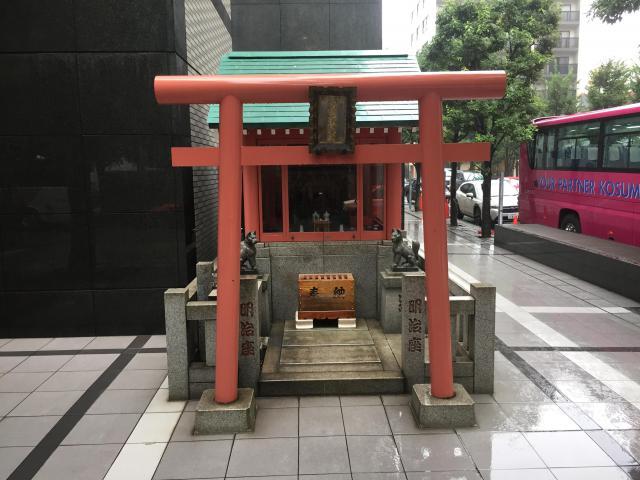 東京都明治座稲荷神社の鳥居