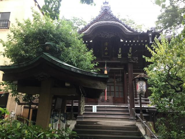 東京都清正公寺の建物その他