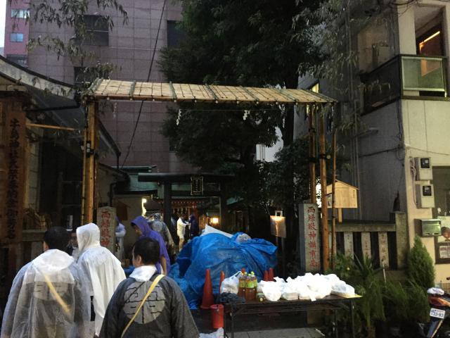 東京都稲荷神社のお祭り