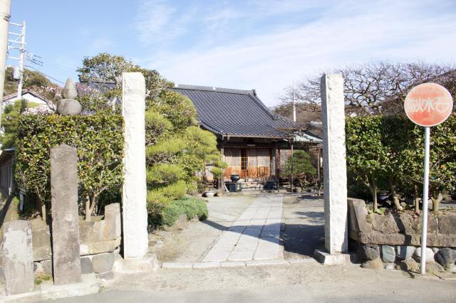 神奈川県補陀洛寺の写真