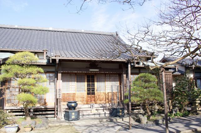 神奈川県補陀洛寺の本殿