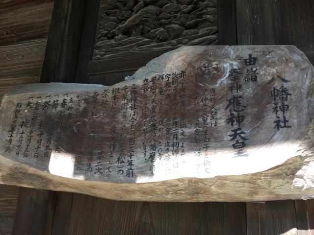 八幡神社(千葉県市川真間駅) - 歴史の写真