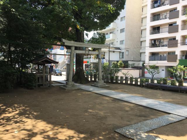 八幡神社(千葉県市川真間駅) - 鳥居の写真