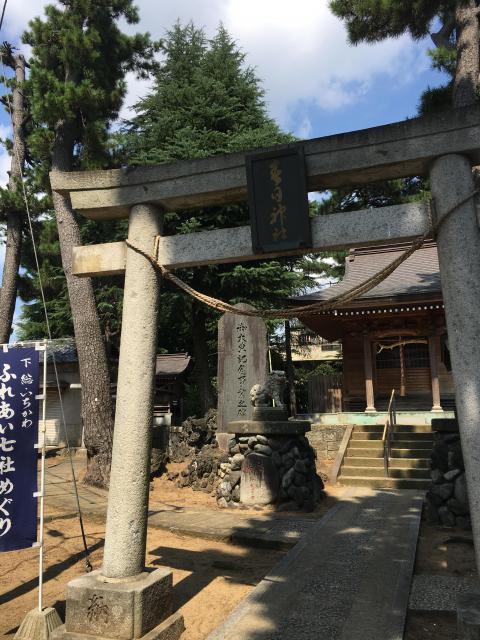 千葉県春日神社の鳥居