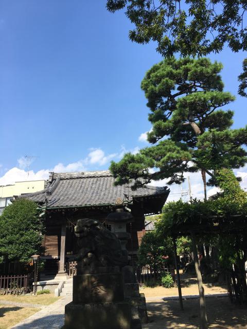 八幡神社の近くの神社お寺|胡録神社