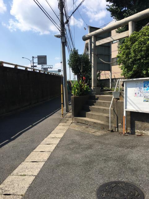 稲荷神社(千葉県国府台駅) - 鳥居の写真