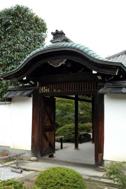 京都府正伝永源院(建仁寺塔頭)の山門